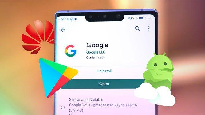 استفاده از گوشی هوآوی بدون گوگل پلی